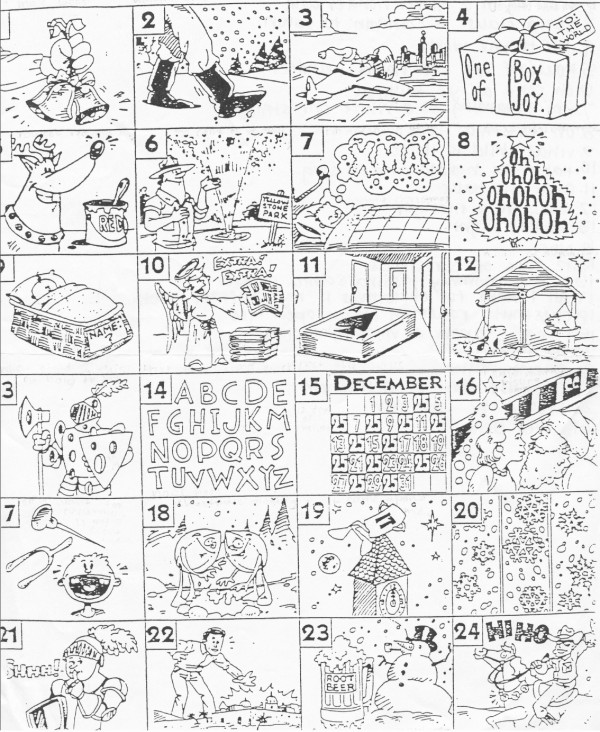 image about Guess the Christmas Song Printable named Puzzle Anecdotes