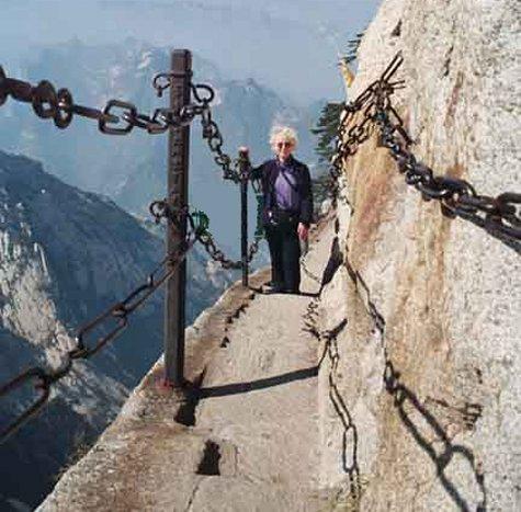 Mt Huashan Hiking Trail