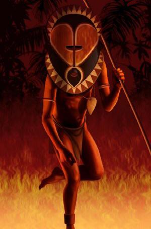 African Warrior Art