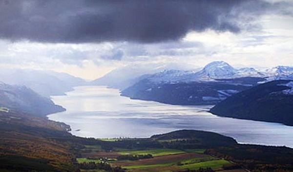 Loch Ness Karte.Loch Ness Monster