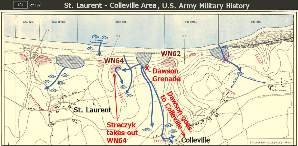 The U S Army Military History Recap Of Omaha Beach From Which That Map Above Was Copied Has 192 Pages
