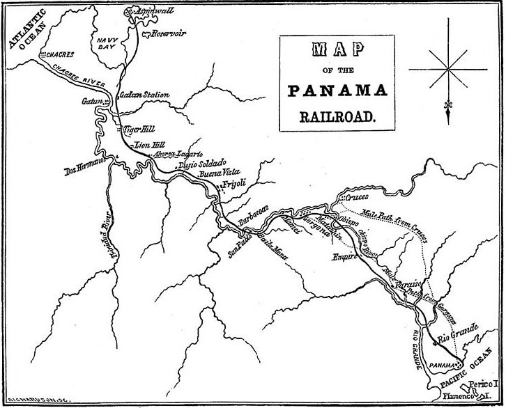 panama canal quiz Mediterranean Sea not only did the panama railroad run alongside the important chagres river the jungle had already been cleared