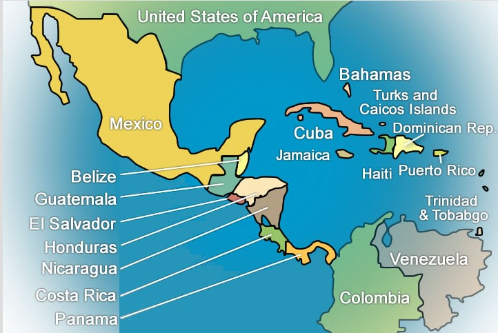 for various reasons mexico is considered part of north america along with canada and the usa