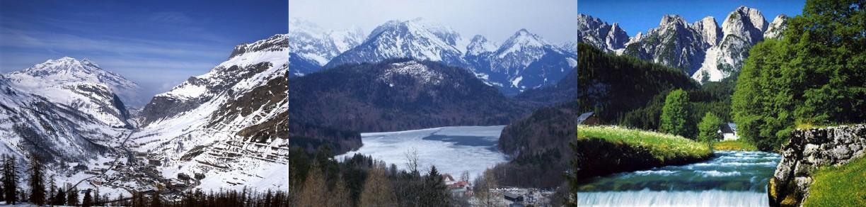 Swiss Rivers - Swiss river to the rhine