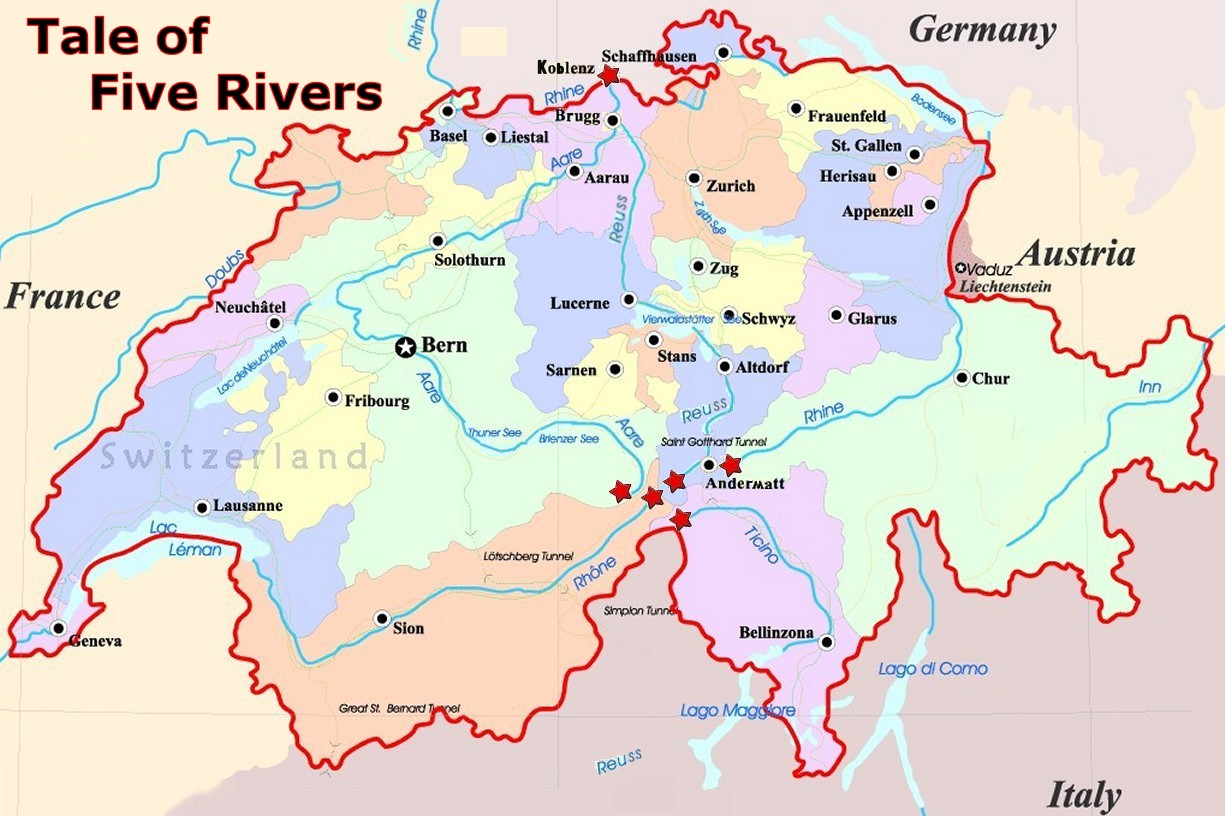 Hope In Eastern Europe >> Swiss Rivers